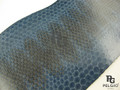 Genuine Sea Snake Skin Hide Blue Grade A [SESBU02G]