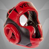 Venum Absolute 2.0 Red Devil Headgear Nappa Leather