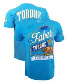 Torque Urijah Faber AUTOGRAPHED TUF 17 Walkout Shirt