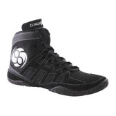 Clinch Gear Machine Wrestling Shoes Black/Grey