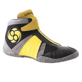 Clinch Gear Invincible Black/Grey/Yellow Wrestling Shoes