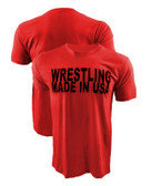 Wrestling Made In USA Shirt