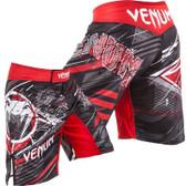 Venum ALL FALGS Black/Red Fight Shorts
