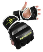 Caged Assassin Leather Hybrid Training Gloves
