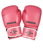 Caged Assassin Womens Pink Boxing Gloves