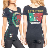 Affliction Cain Velasquez UFC 155 Womens Scoop Neck Tee