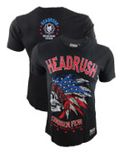 Headrush American Flag Skull Shirt