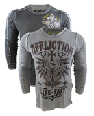 Affliction Kratos Long Sleeve Crew Neck Thermal