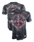 Affliction AC Chopped Tape Shirt