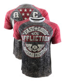 Affliction AC Volume SS Football Shirt