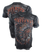Affliction Peace Pipe Shirt