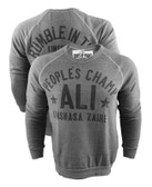 Roots of Fight Grey Ali Rumble Anniversary People's Champ Sweatshirt