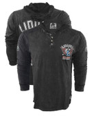Headrush Liddell Collection Chosen Few Long Sleeve Hooded Shirt