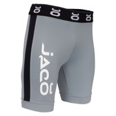 Jaco Vale Tudo Fight Shorts - Long (Grey/Black)