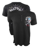 Affliction Devil's Canyon V-Neck Henley Shirt