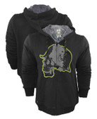 Metal Mulisha Sabot Sherpa Zip-Up Hoodie
