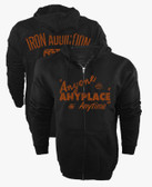 Iron Addiction Cerrone Anyone Anyplace Anytime V2 Hoodie