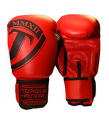 Torque Fulcrum 16oz Red Boxing Gloves