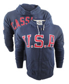 Roots of Fight Cassius Clay USA French Terry Hoodie1