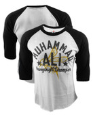 Roots of Fight Muhammad Ali Bee Raglan Shirt