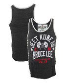 Roots of Fight Bruce Lee JKD Triblend Striped Tank Top 1
