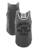 Roots of Fight Mike Tyson Brooklyn's Own Striped Tank Top