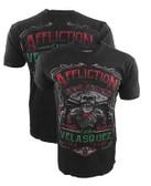 Affliction Cain velasquez UFC 188 Caudillo Shirt (AUTOGRAPHED)