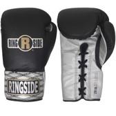 Ringside Ultimate Pro Black Fight Gloves
