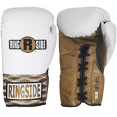 Ringside Ultimate Pro WHITE Fight Gloves
