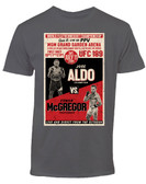 Conor McGregor vs. Jose Aldo UFC 189 Old School Retro T-Shirt