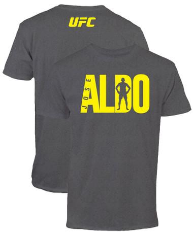 Jose Aldo UFC 189 Fighter Lettering T-Shirt
