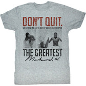 Muhammad Ali Suffer Now Shirt