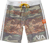 RVCA Makua Triangles Boardshorts front