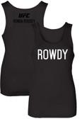 ROWDY Ronda Rousey UFC 184 Tank Top