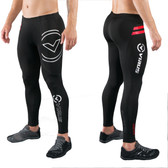 Virus Men's Stay Warm Compression V2 Tech Pants (SiO9) Black