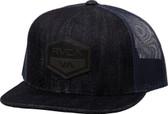 RVCA Laurel 6 Panel Denim Trucker Hat