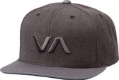 RVCA VA Snapback II Hat Grey