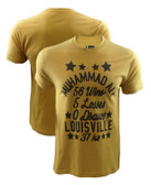 Muhammad Ali Yellow Stars Shirt