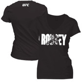 Ronda Rousey Womens Block Text Shirt