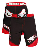 Bad Boy Legacy II Fight Shorts - Black/Red
