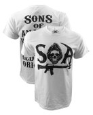 Sons Of Anarchy SAMCRO Stacked Shirt