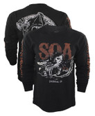 Sons Of Anarchy Charging Reaper Long Sleeve Shirt