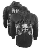 Sons Of Anarchy Crossed Guns Hoodie