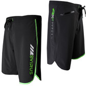 Virus Men's Airflex Training Shorts (ST1) Black/Green