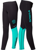 Virus Women's Stay Cool V2 Compression Pant (ECo21)-Teal