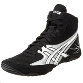 Asics Cael V4 Black Wrestling Shoes