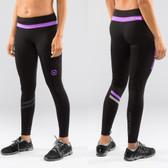 Virus Women's LUNAR Active Tech Pant (ECo19) Black/Purple