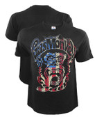 Gas Monkey Garage Americana Monkey Shirt