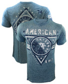 American Fighter Siena Heights Washed Denim Shirt