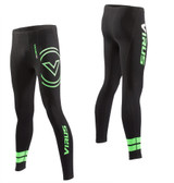 Virus Men's Stay Cool V3 Tech Pants (RX7-V3) Black/Lime Green Limited Edition